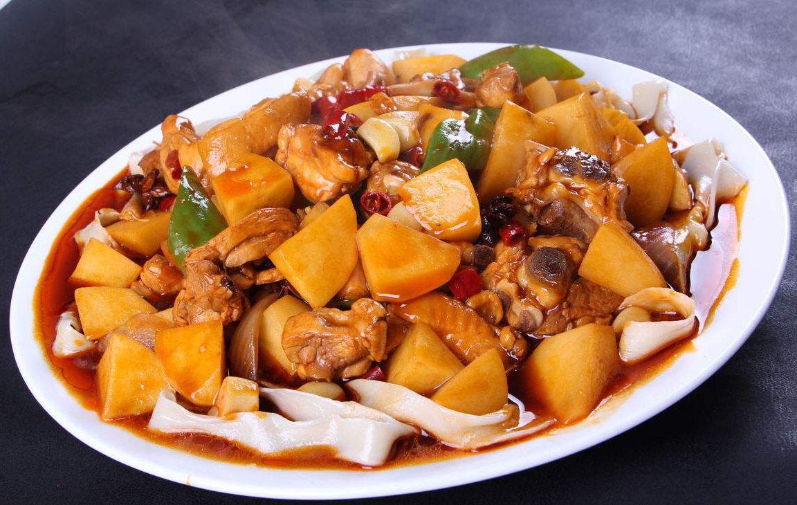 新疆旅游美食攻略之大盘鸡